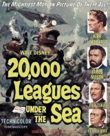 Affiche Vingt mille lieues sous les mers