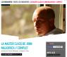 Master class John Malkovich au Forum des images